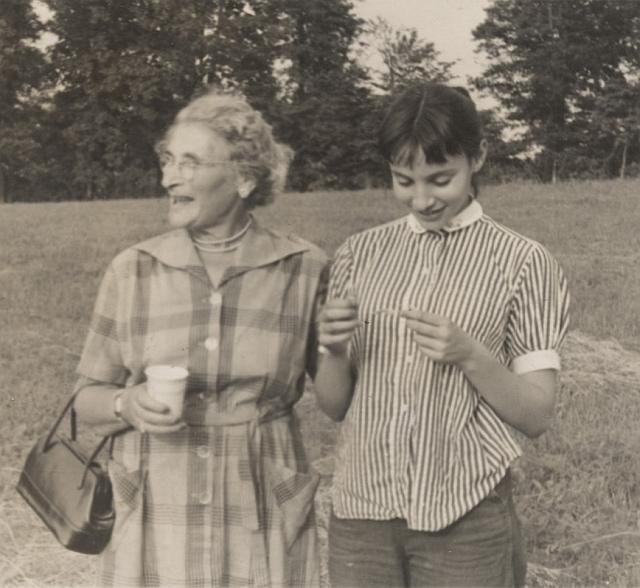 1954 Virginia USA Celia Evans Tess Isenbergh